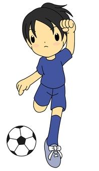 Soccer girls · shoot