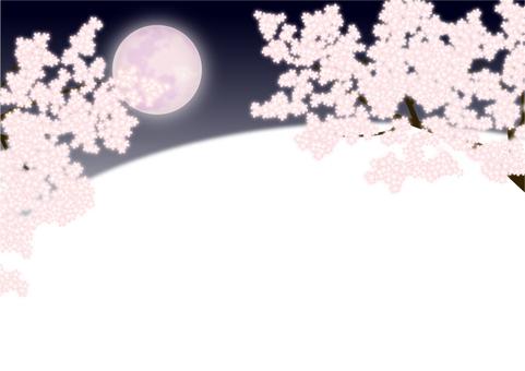"Frame ""Night cherry tree"""