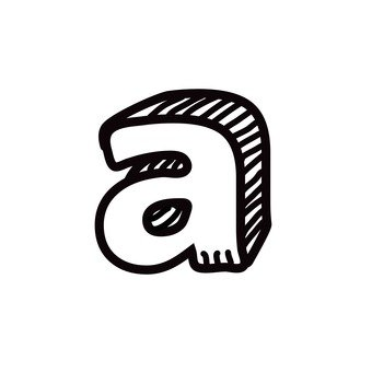 A (lower case)