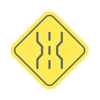 Sign (road width)