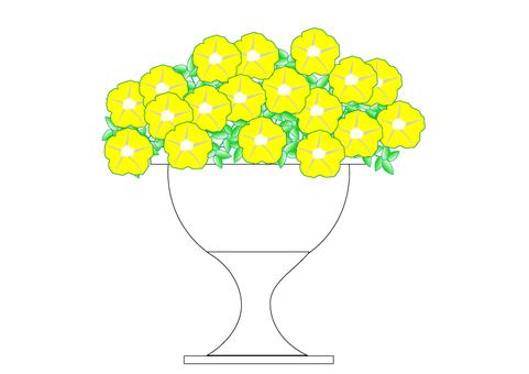 Petunia yellow
