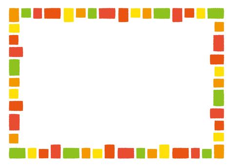 Colorful frame vitamin