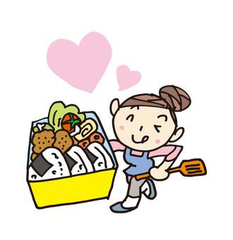 Mom's love lunch box
