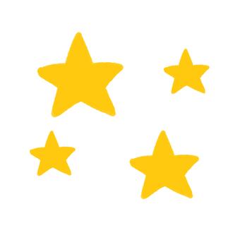 Many stars (simple)