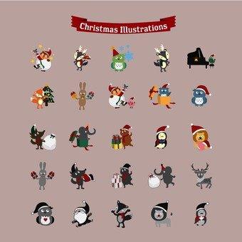 크리스마스 세트