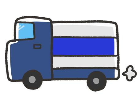 Cute moving truck