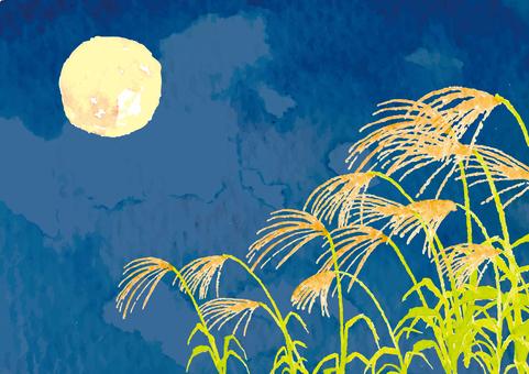 """""""수채화 바람""""가을의 야경"""