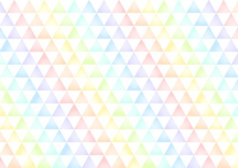 다채로운 삼각형 모양