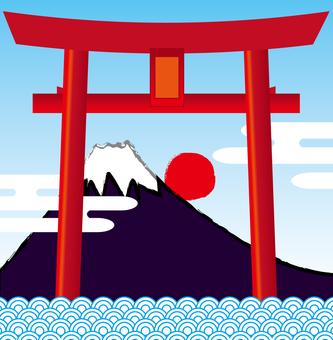 Torii and Fuji