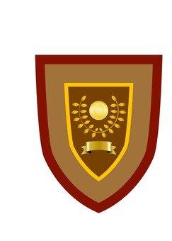The winning shield