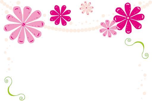 Message card _ flower