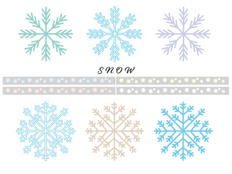 SNOW雪の結晶