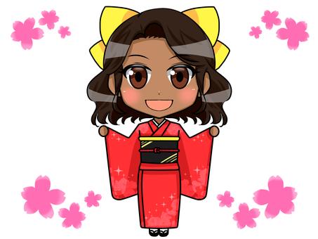 Foreigner kimono 02