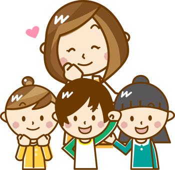 Children and children _A23 【pastel】