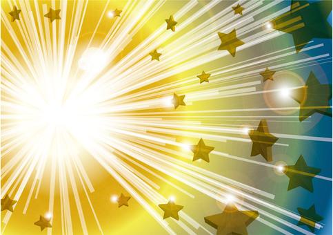 Stars and light texture