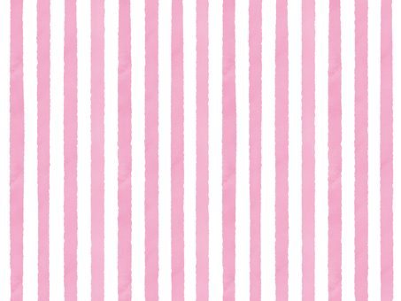 Watercolor border (thin) pink