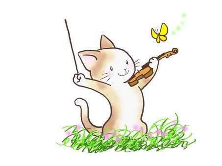 バイオリンねこ44