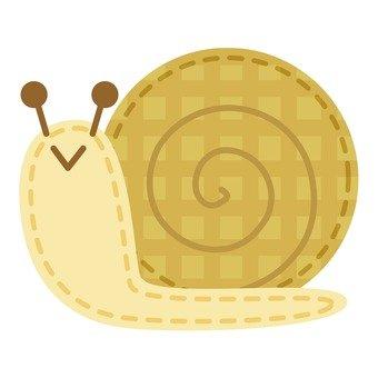 Snail applique