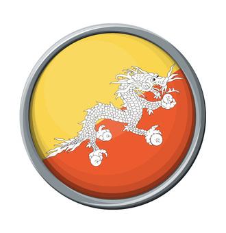 Bhutan national flag / icon