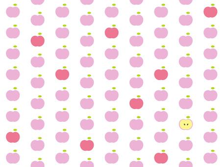 Pink apple 3
