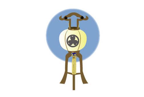 Lantern lantern of Obon 02