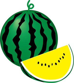 Yellow watermelon _A