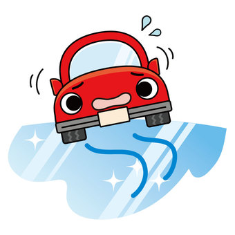 Freezing road surface (Part 1)
