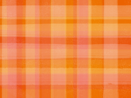 Orange check cloth background