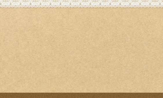 Card (business card) size _ Lace & Kraft paper