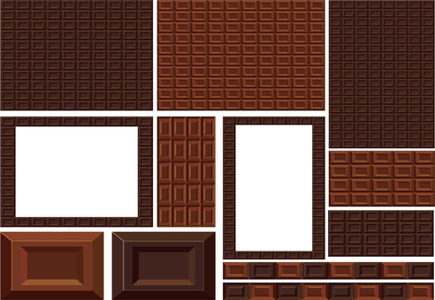 Plate Chocolate Sweets Confectionery Texture