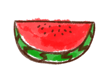 Crayon series [watermelon / crack]