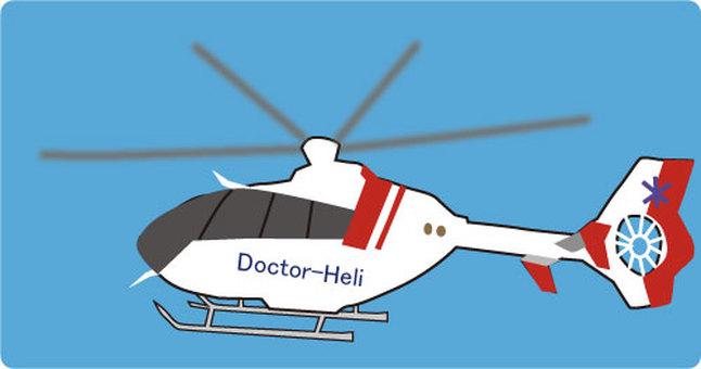医生直升机的插图