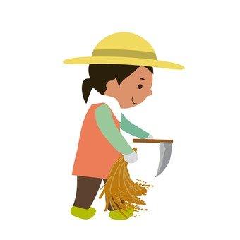 수확하는 사람