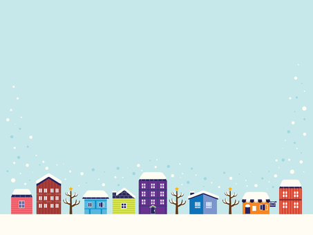 Winter landscape illustration (6)