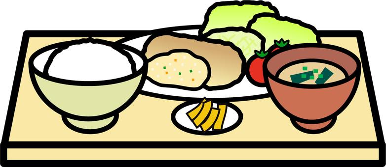 Chicken nambutan set meal