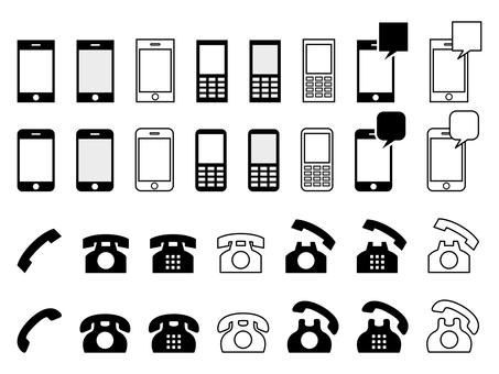 icon _ Telephone set