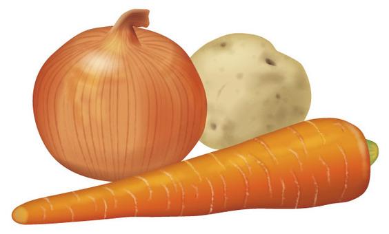 咖哩設置2 /蔬菜