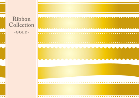 Ribbon Collection (Gold)