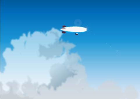 Traffic cloud and airship