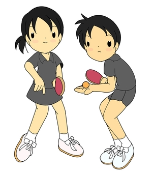 Table Tennis / Mixed Doubles