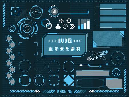 Futuristic material set