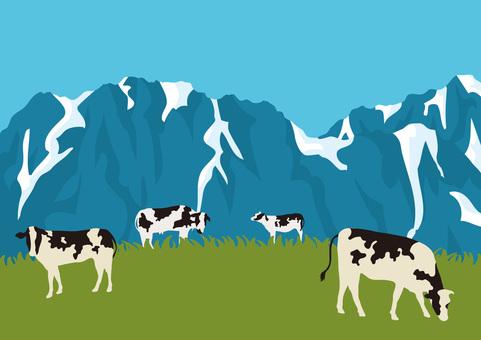 牧場的風景