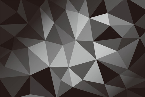 Polygon style ☆ Geometry ☆ Black and white background picture