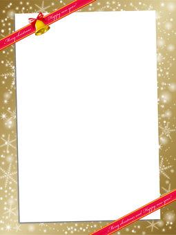 圣诞贺卡:圣诞节的材料