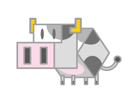 Cube cow