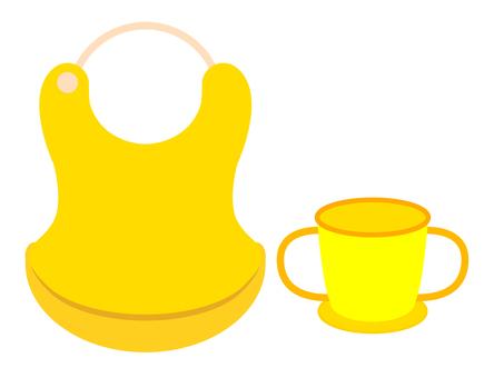 Prepare for children for cups