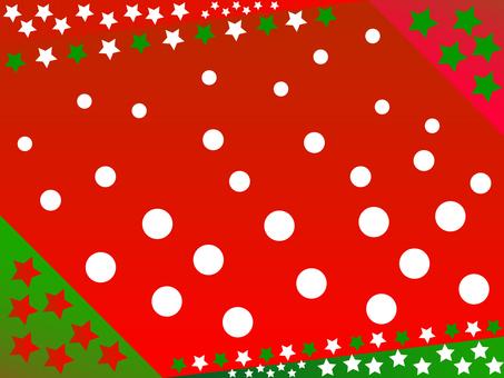 Snow + star (Christmas)