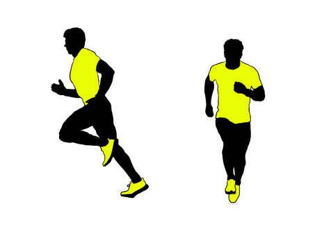 Runner silhouette 4