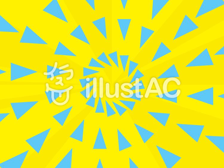 三角形を使った放射状の背景1b