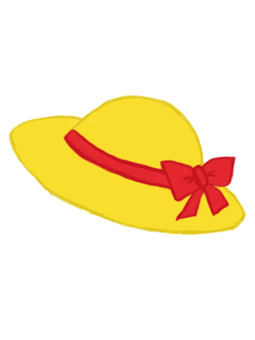 黃色的帽子